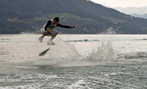 Stretch Your Summer am Mondsee 2010.  Foto: Roland Haschka