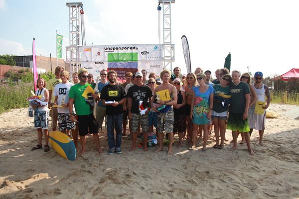 Deutschen Surfboard & Stand UP Paddel Meisterschaften 2010.  Foto: Veranstalter