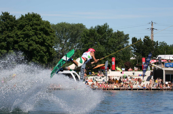 Wakeboard Cup 2010 am Au See 2010.  Foto: Wolfmayr