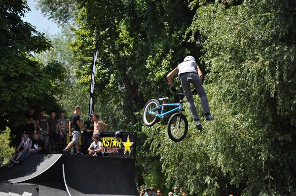 BMX Masters 2010 in Köln.  Foto: Lisa-Marie Reif