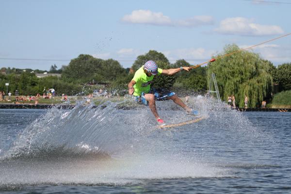 Wakeboard WM in Neubrandenburg.  Foto: Niels Schmitz