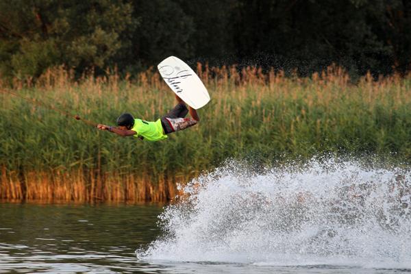 Wakeboard Worlds 2010 in Neubrandenburg.  Foto: Niels Schmitz