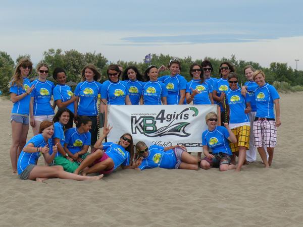 KB4girls Kitesurf Camp.  Foto: Dave Cooper