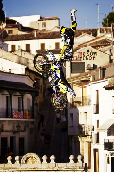 FMX Stopp in Madrid Red Bull X-Fighters World Tour.  Foto: Predrag Vuckovic, Joerg Mitter