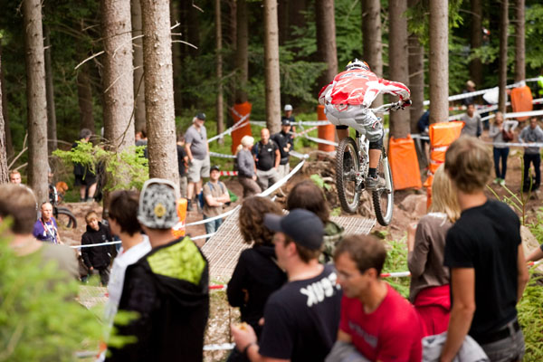 iXS German Downhill Cup 2010 in Bad Wildbad.  Foto: Thomas Dietze