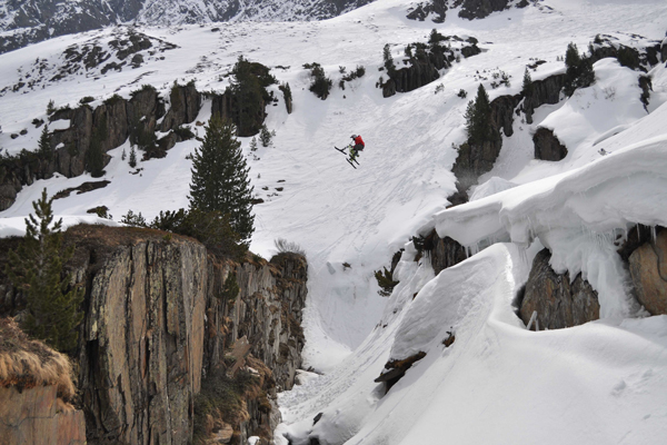 Matthias Garber Stubaier Gletscher.  Foto: shizofanatic