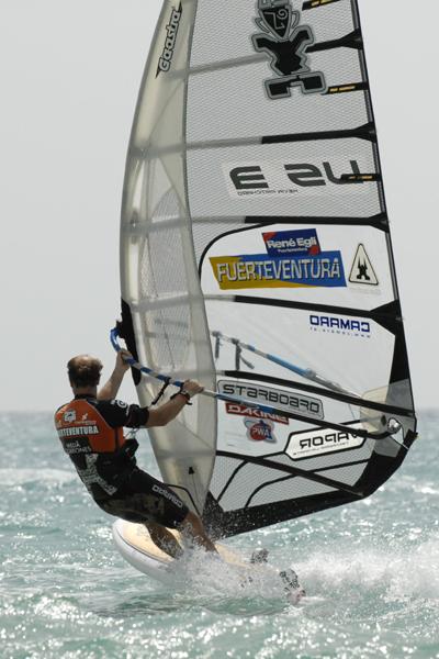 Interview mit Windsurfer Kevin Pritchard.  Foto: Claus Döpelheuer