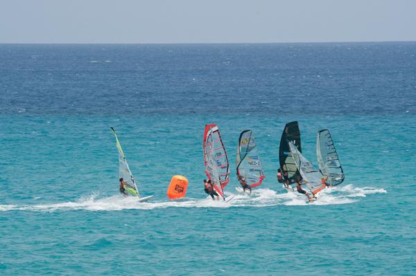 Windsurf und Kiteboard Worldcup 2010 Fuerteventura.  Foto: fuerteventura-worldcup.org/Claus Döpelheuer
