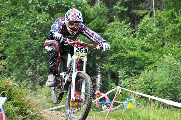 Benjamin Peer iXS Cup Steinach 2010.  Foto: Racement
