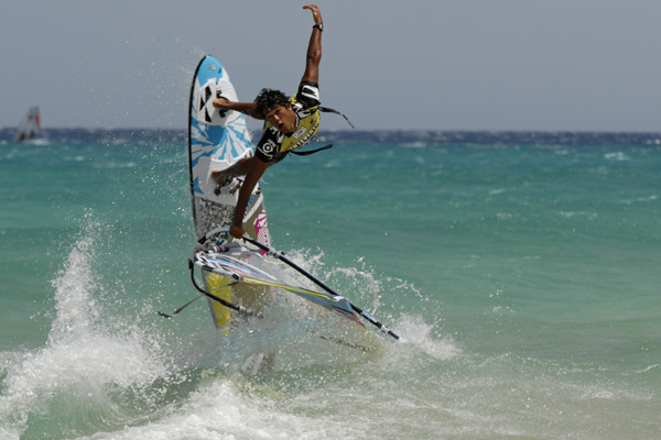 Grand Slam 2010 auf Fuerteventura Tag 4.  Foto: Kerstin Reiger