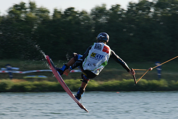 Stefan Lebwohl Wake Cup Wien 2010.  Foto: wakeboardAG