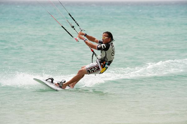 Kiteboarding Worldcup 2010.  Foto: Claus Döpelheuer