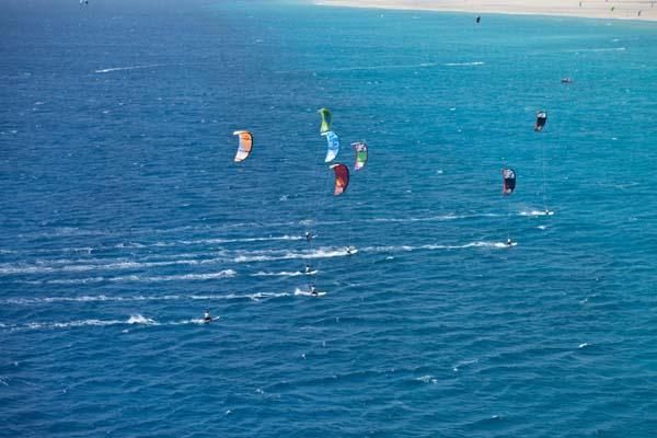 PKRA Kitesurf Worldcup Grand Slam 2010 Tag 3 auf Fuerteventura.  Foto: Christian Tillmanns