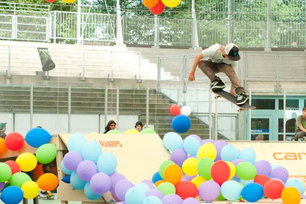 Melon european Skateboard Championships Basel 2010.  Foto: Nicolas Schneider