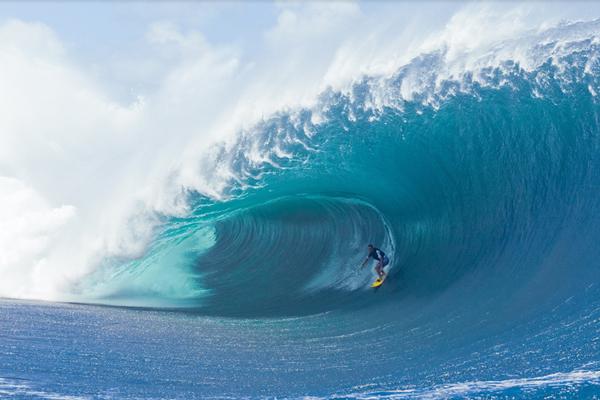 Tahiti Welle.  Foto: Veranstalter