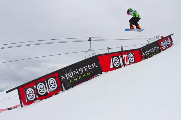 Gjermund Braaten Burton New Zealand Open Slopestyle Finals.  Foto: Pablo Azocar