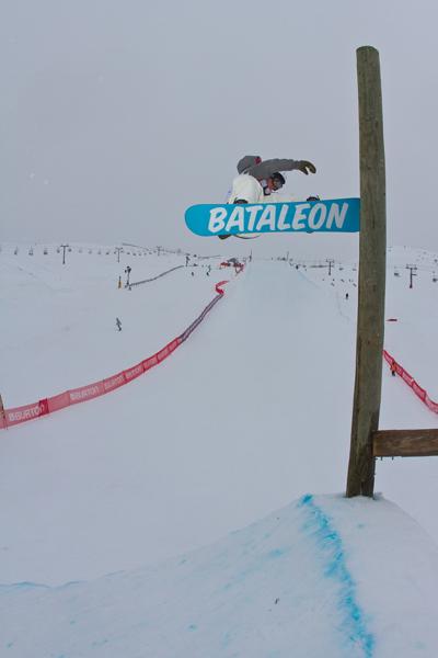 Tore Holvik Slopestyle Finals Burton NZ Open.  Foto: Pablo Azocar