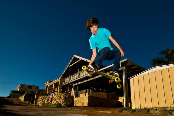 Sam Trowbridge Freebord Pro Team.  Foto: Freebord.com