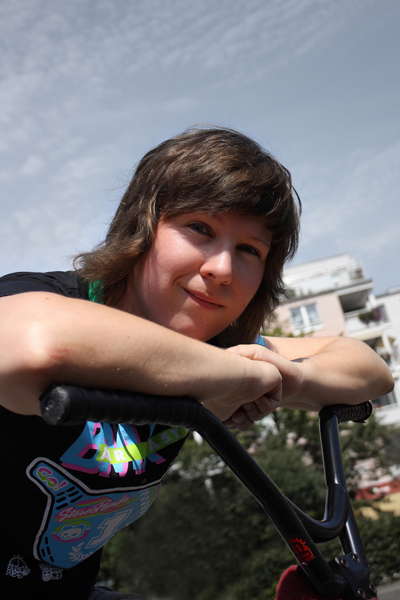 Portrait Julia Preuss.  Foto: Fabia Leuthäußer