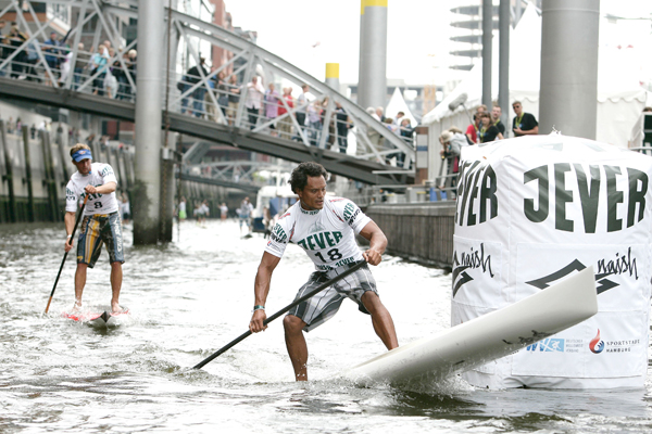 SUP World Cup Hamburg 2009.  Foto: Hoch Zwei