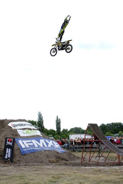 Deutsche FMX Meisterschaft 2010 am Nürburgring.  Foto: Oliver Franke / IFMXF.com