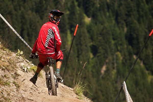 iXS European Downhill Cups 2010 Châtel.  Foto: Veranstalter