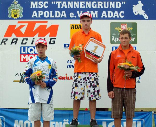 BVZ Racing Team - Deutsche Motocross Meisterschaft Open.  Foto: MX-Promotion