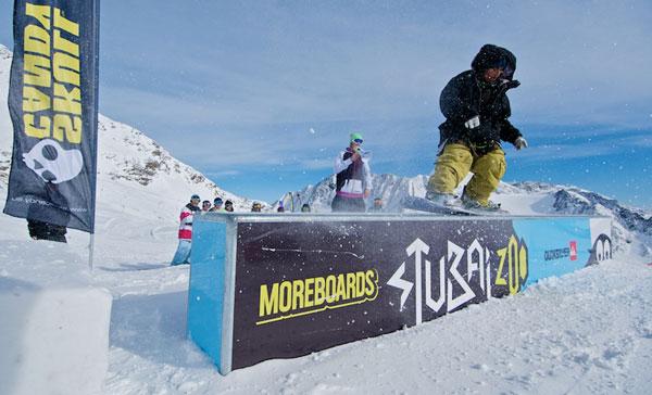 Moreboards Stubai Premiere 2010. Foto: Andre Schoenherr