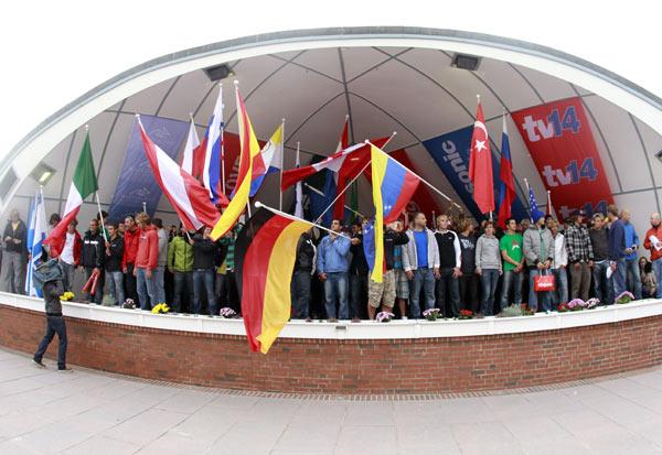 Eröffnung des Windsurf World Cups 2010 auf Sylt.  Foto: HOCH ZWEI / Juergen Tap