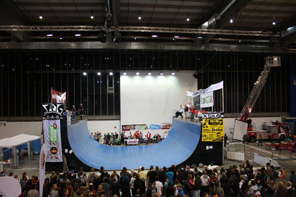Skate Association Germany auf der YOU-Messe.  Foto: www.Rolling-Berlin.de