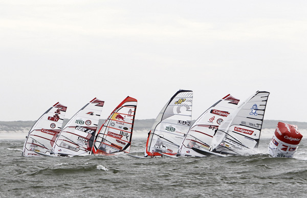 Colgate Windsurf World Cup 2010 auf Sylt.  Foto: Hoch Zwei