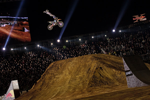Red Bull X-Fighters 2010 in Rom.  foto: Joerg Mitter