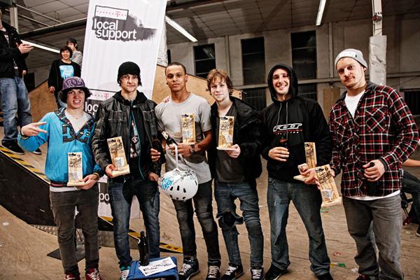 Telekom Local Support Street Challenge 2010.  Foto: David Ulrich
