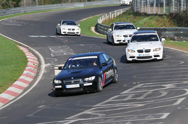 BMW Coolest Job am Nürburgring.  Foto: BMW