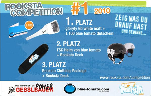 Erste Rooksta Video Competition.  Foto: Rooksta.com