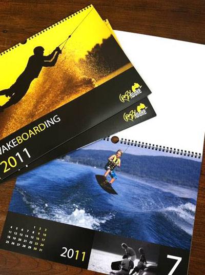 CrazyWake Wakeboard Kalender 2011.  Foto: crazywake.de