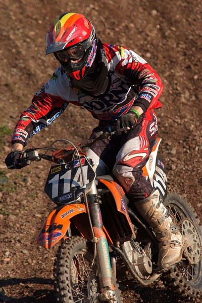 Davide von Zitzewitz vom BVZ Racing Team.  Foto: MX-Promotion