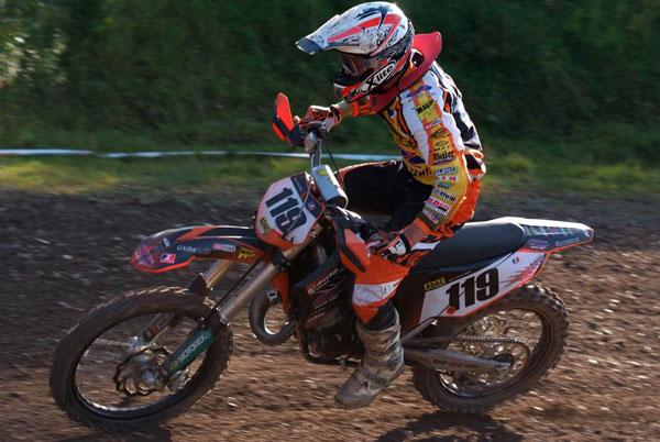 Louis Höhr vom BVZ Racing Team.  Foto: MX-Promotion