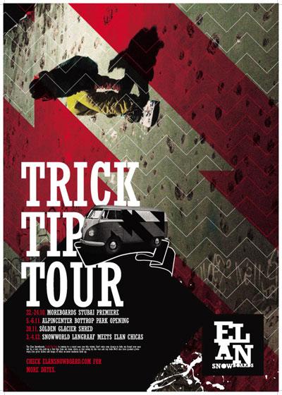 Elan Trick Tip Tour 2010.  Foto: Elan