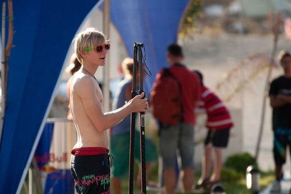 European Freestyle Pro Kids Tour 2010 in Alcati.  Foto: Julian Robinet