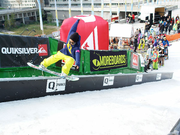 QParks Ramp Rumble 2010 in Wien.  Foto: QParks