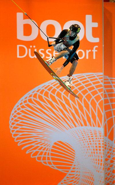 Wassersportmesse boot 2011 in Düsseldorf.  Foto: Rene Tillmann Pressefotos