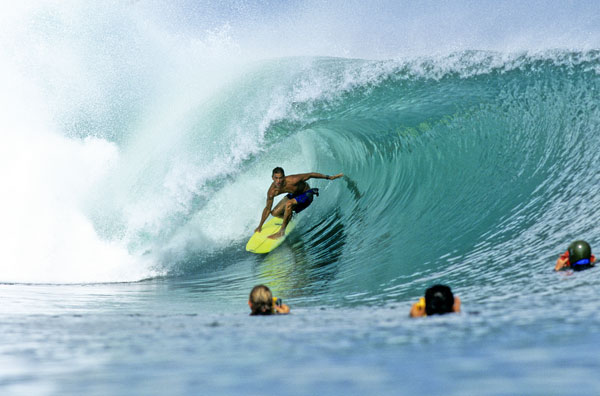 Kelly Slater in Action.  Foto: Jeff Divine