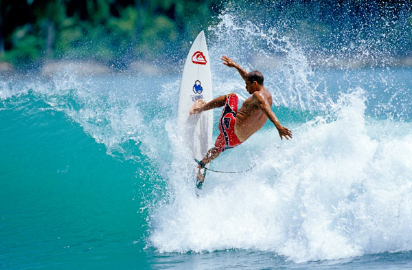 Kelly Slater in Action.  Foto: Jason Kenworthy