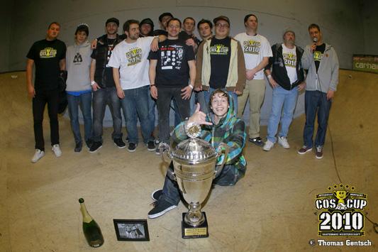Thomas Weber ist Deutscher Meister 2010.  Foto: www.clubofskaters.de