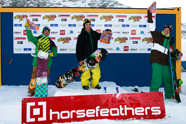 Horsefeathers Pleasure Jam 210 am Dachstein.  Foto: Roland Haschka/QParks