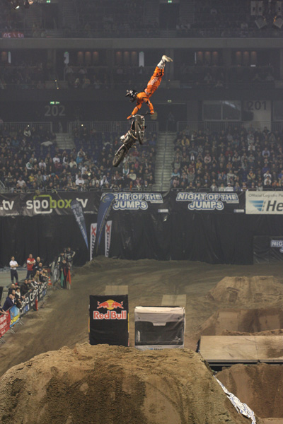Jose Miralles bei der Night of the Jumps 2010.  Foto: Oliver Franke / IFMXF.com