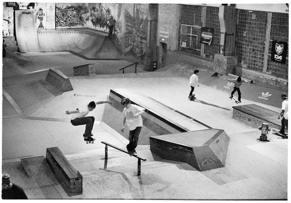 New Kids on the Block: Skatecontest für Kids in Berlin.  Foto: Veranstalter
