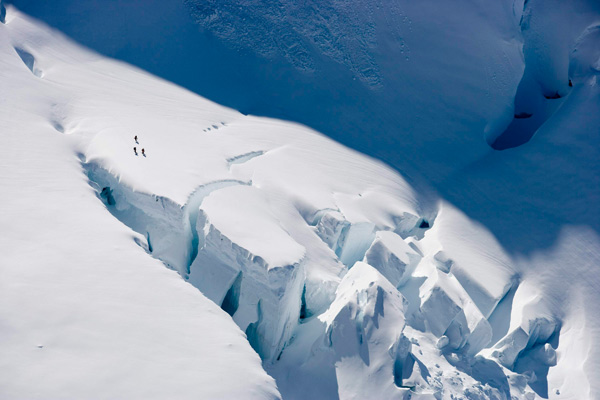 Mount St. Elias.  Vitek Ludvik / Red Bull Photofiles