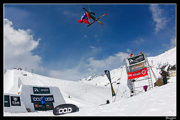 Chill and Destroy Freeski Tour.  Foto: Veranstalter
